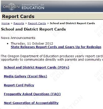 Oregon Schools