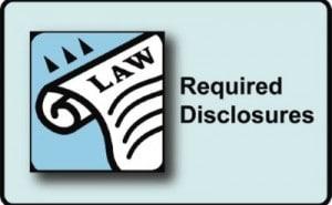 real estate disclosures