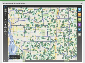 Portland Real Estate Map