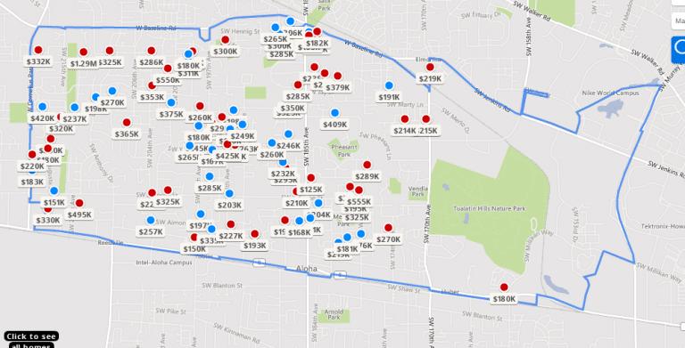 Portland Oregon Zip Code Map