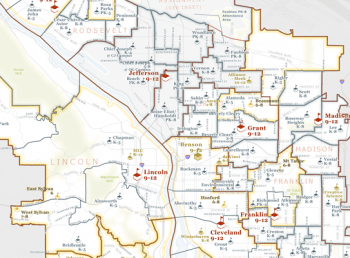 portland public schools map Portland School District Boundaries Change In 2016 Real Estate portland public schools map