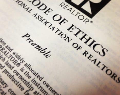 portland realtor ethics in real estate