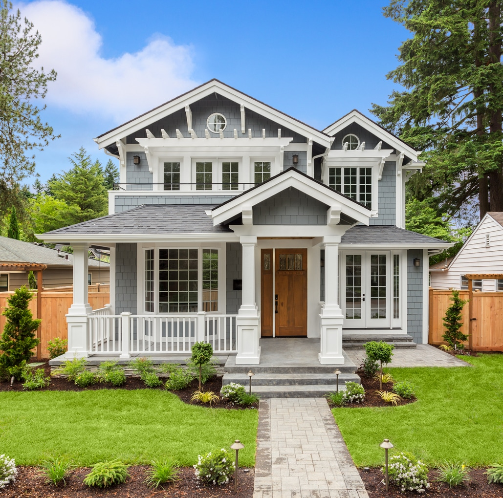 Beautiful Home Design: Paint A Portland Home Exterior This Color