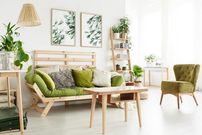 portland home staging living room
