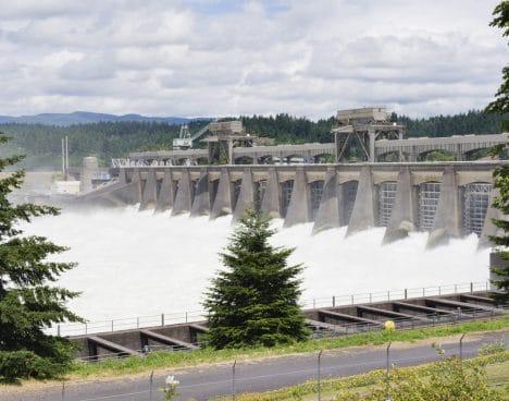 multnomah county bonneville dam