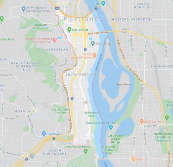 south portland address change map
