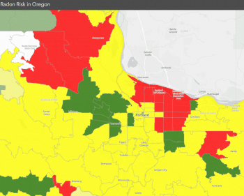 radon map portland