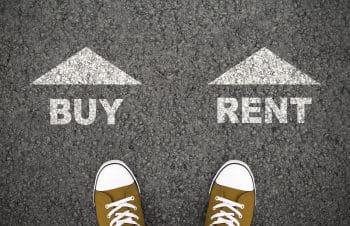 rent vs buy a home portland real estate market