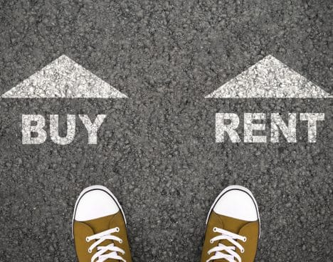rent vs buy a home portland real estate market