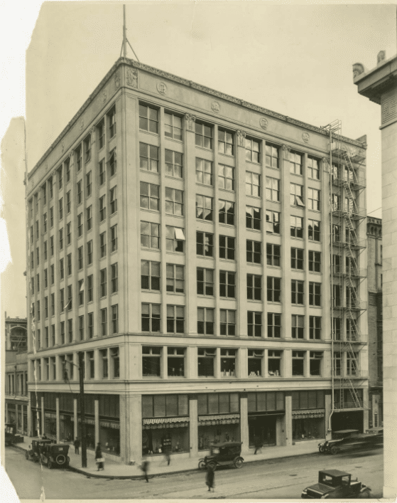 J. K. Gill Company Building in 1928