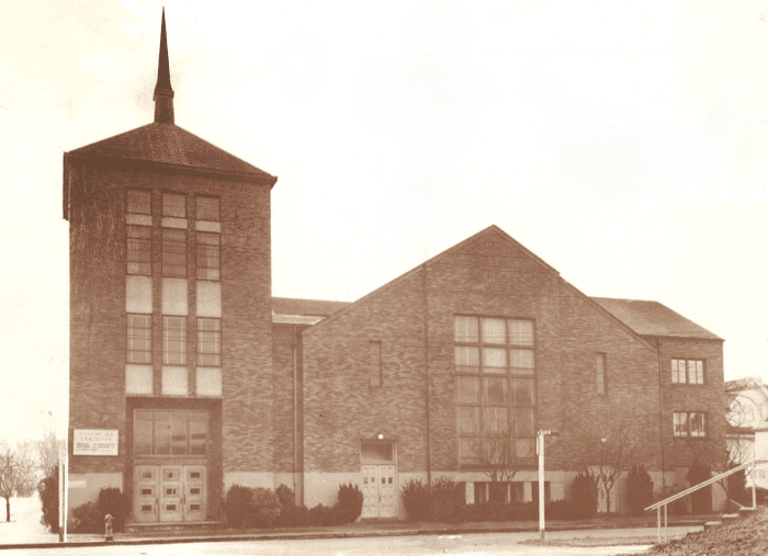Mallory Ave. Christian Church in 1950