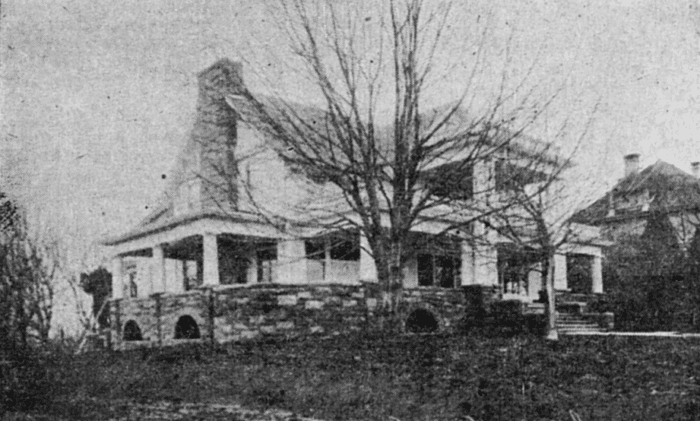 The Cook House post-remodel in 1910.