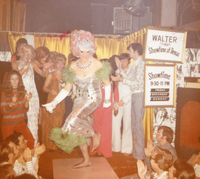 Darcelle performs in 1971.
