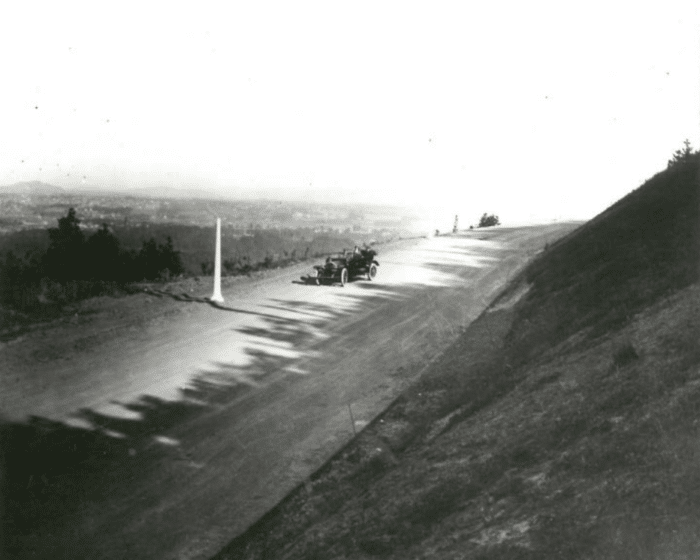 Before it was paved: Terwilliger Parkway circa 1912.