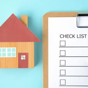 checklist before selling a home